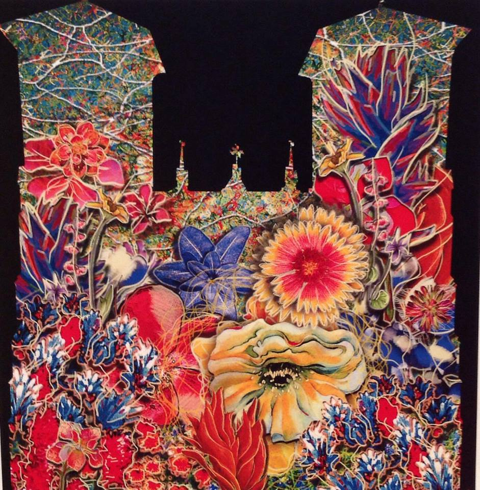 """A preview image of """"The Saga"""" installation at San Fernando Cathedral scheduled for spring 2014 by Xavier de Richemont."""