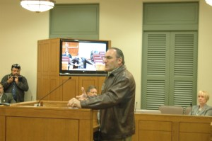 Winslow Swart, Chief Inspiration Officer of Winslow Consulting at The Bexar County Commissioners Court.