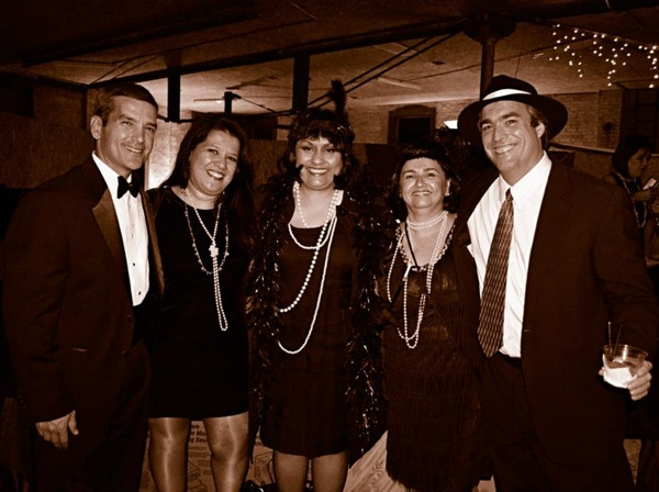 Principal, teachers, local leaders and parents gather for the FOB Roaring 20s gala. Photos courtesy of Angela Martinez