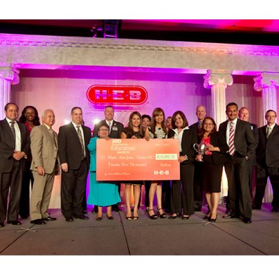 Pharr-San Juan-Alamo ISD, the winning early childhood facility, received a $25,000 grant in 2013. Courtesy photo.