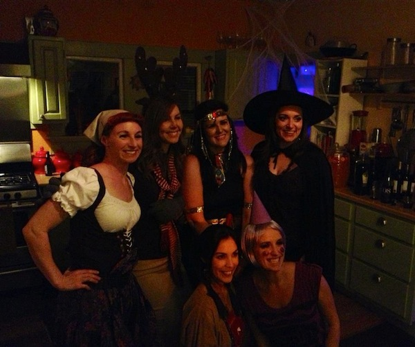 A Halloween party, one of many events the Cruzes hosted in their Lavaca home. Courtesy photo.