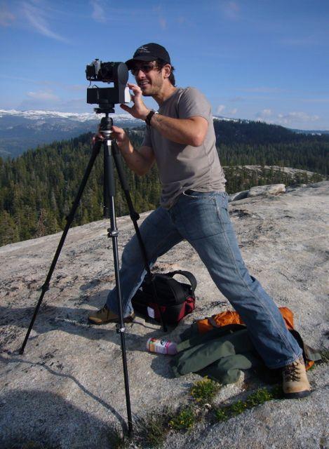 Scott Martin working in Yosemite National Park. Courtesy photo.