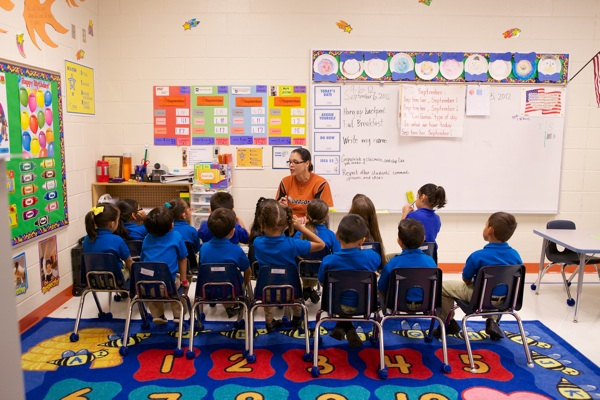 IDEA Public School students participate in a small group instruction, a fundamental of IDEA's elementary academic model. Photo courtesy of IDEA.