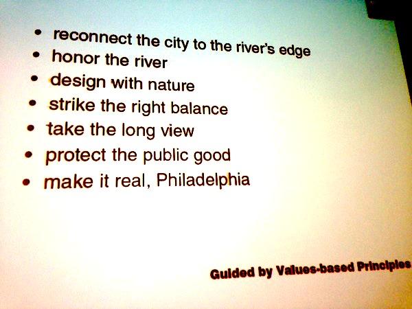 A piece of Philadelphia 2035 philosophy. Sound familiar, San Antonio?