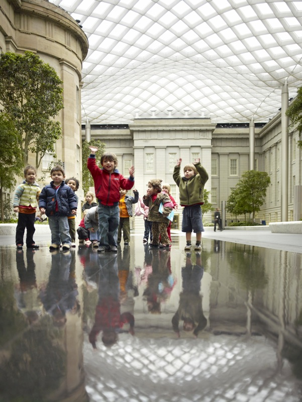 Robert and ArleneKogod Courtyard at the Smithsonian American Art Museum and National Portrait Gallery in Washington, DC by GUSTAFSON GUTHRIE NICHOL (image credit: Nigel Young, Foster+Partners)