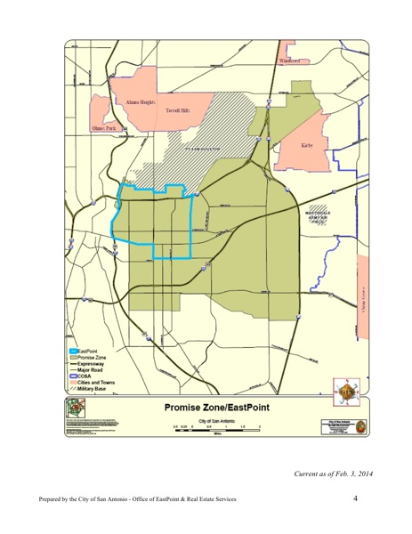 EastPoint Promise Zone Initiative Map. Click here to download full-size PDF.