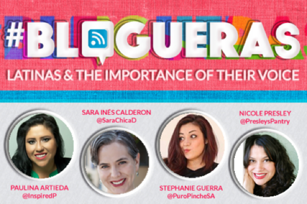 """""""Blogueras: Latinas & The Importance of Their Voice."""" A panel discussion centered around Latinas in new media, featuring San Antonio native Stephanie Guerra of Puro Pinche."""