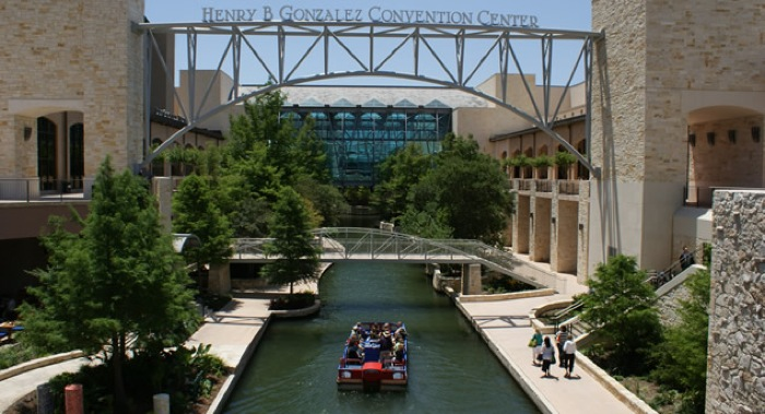 The Henry B. Gonzalez Convention Center. Photo courtesy of the City of San Antonio.