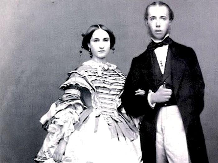 Maximilian and Carlota: Europe's Last Empire in Mexico. Photo in the U,S, public domain.