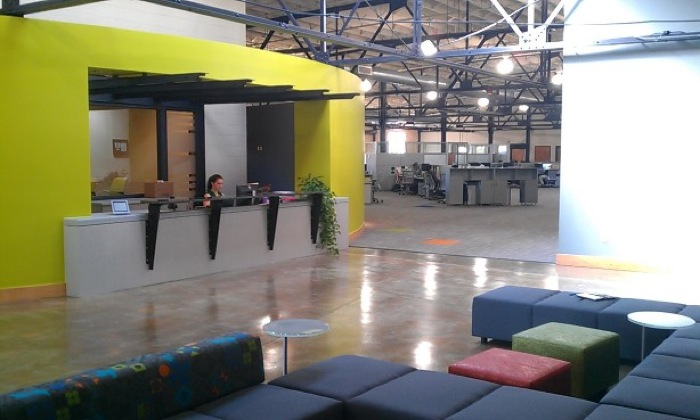 Peer 1's new digs at the Peal Brewery. Photo by Andrew Moore.