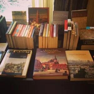 Books on display photo via Instagram