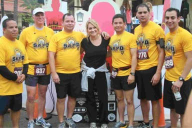 Participants in the 2013 Culinaria  Wine and Beer 5k at The Shops at La Cantera Courtesy photo.