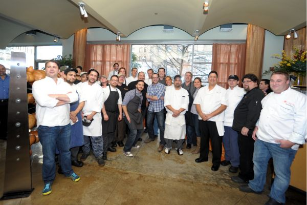 The chefs that participated in the January Chefs 4 Chefs brunch to benefit Steve Silbas.