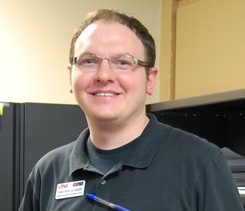 Christopher Goldsberry, assistant director of Student Enrollment Services