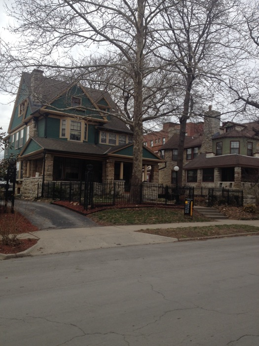 Historic homes in the Hyde Park neighborhood of Kansas city. One advantage to multiple hip neighborhoods is that housing remains affordable. Photo by Scott Gustafson.