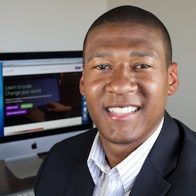 Jonathan Robinson is one of four students already taking advantage of the crowdfunding portal. Courtesy photo.