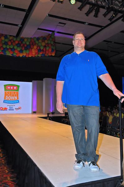 Richard Arrington from Aransas Pass, winner of the H-E-B Slim Down Showdown Community Healthy Hero Winner $5,000 prize. Photo courtesy of H-E-B.