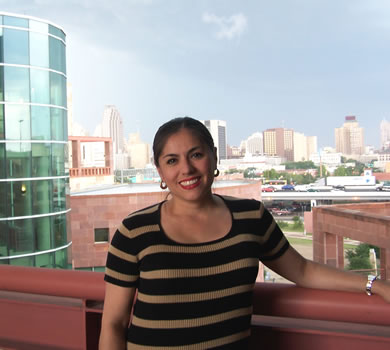 Sophia Ortiz, assistant director of the Bank of America Child and Adolescent Policy Research Institute at UTSA CAPRI