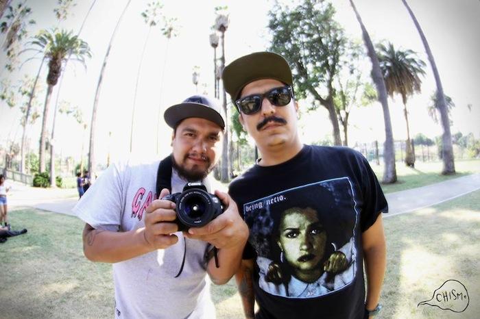 Ariel Faz (left) and Eric Frias of CHISME. Courtesy photo.