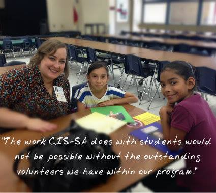 Quote from a Communities in Schools site coordinator. Image courtesy of CIS' Facebook Page.