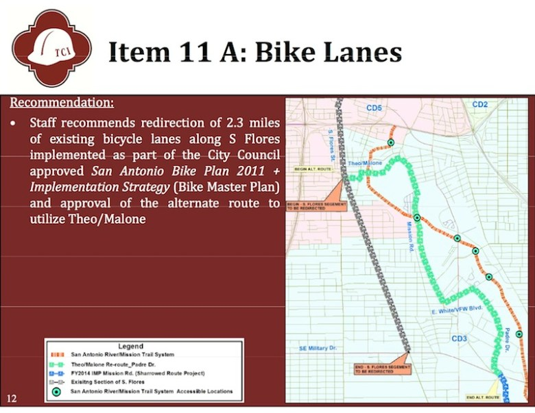 From the Transportation and Capital Improvements' presentation to City Council on May 29, 2014.