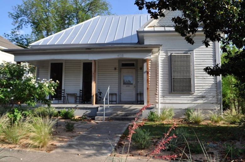 The home of Lewis and Bekah McNeel (and newcomer Moira McNeel) in Dignowity Hill. Photo by Iris Dimmick.