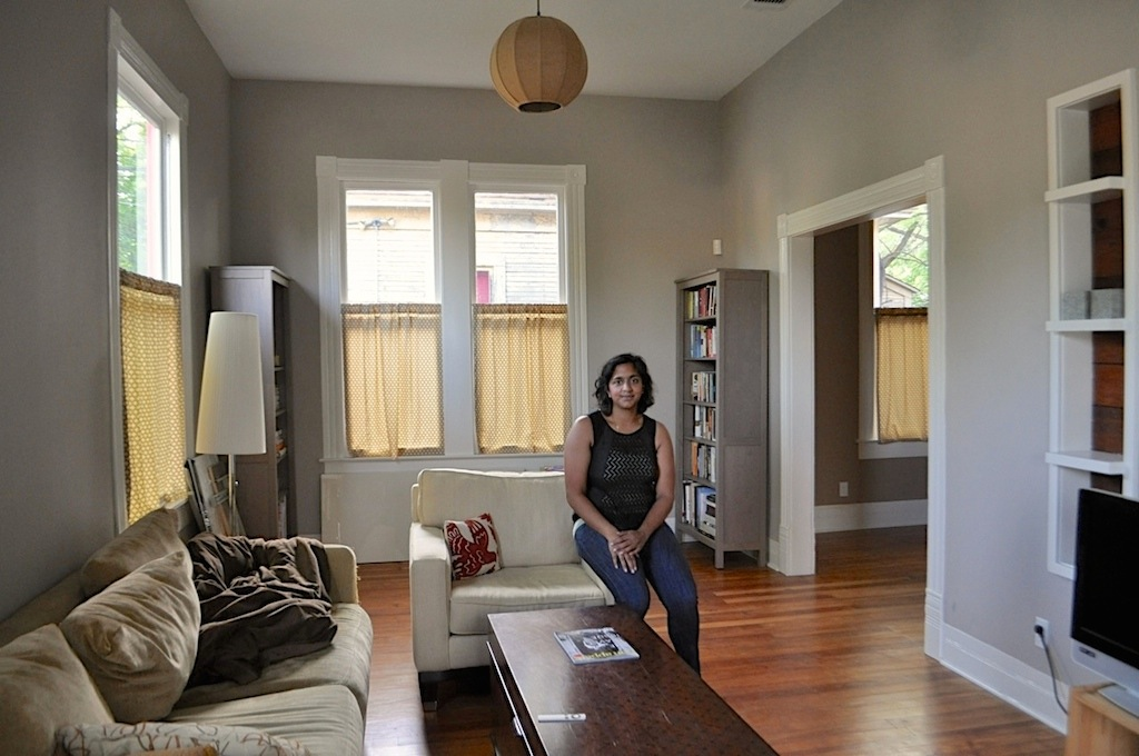 Seema Kairam's home in Dignowity Hill. Photo by Iris Dimmick.