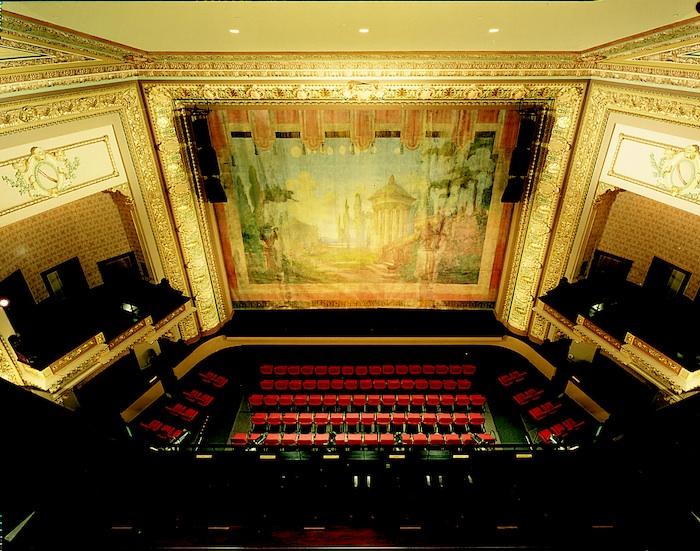 The restored, modern Empire Theatre. Courtesy of The Majestic Theatre and The Charline McCombs Empire Theatre.