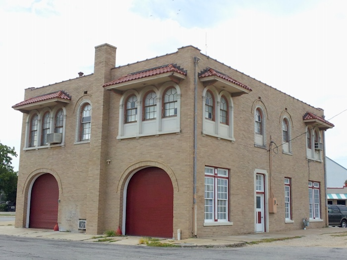 Fire House No.7 at 604 S. Alamo St. Photo courtesy of the City of San Antonio.