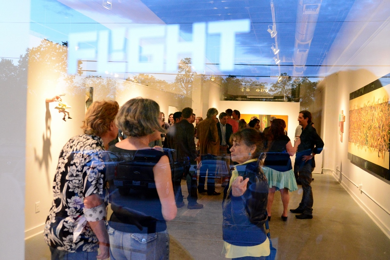 Flight Gallery now at Blue Star Arts Complex.