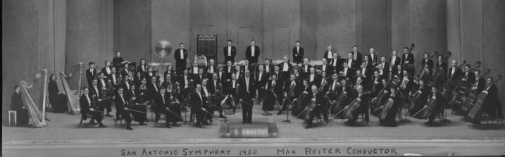 Historical photo of the San Antonio Symphony. Courtesy photo.