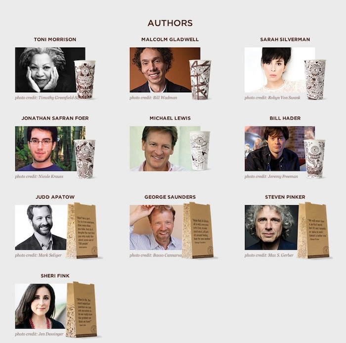 Screenshot of featured author's at www.cultivatingthought.com.