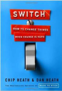 """""""Switch: How to Change Things When Change is Hard,"""" by brothers Chip and Dan Heath."""