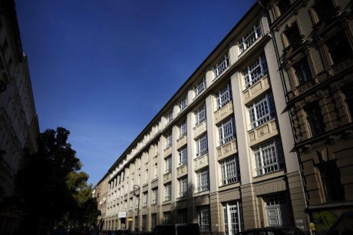 Street view of the Künstlerhaus Bethanien. Photo courtesy of Künstlerhaus Bethanien.