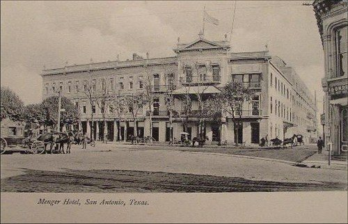 The Menger Hotel in 1905. Courtesy image.