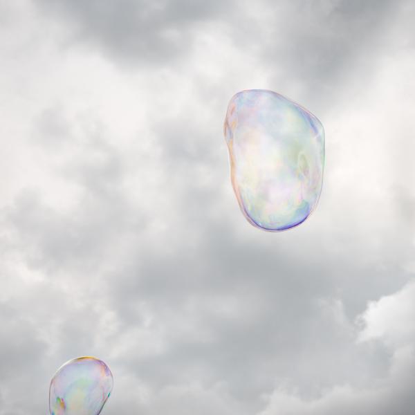 Soap Bubbles, Bubble #9 (2014). Photo courtesy Stuart Allen.