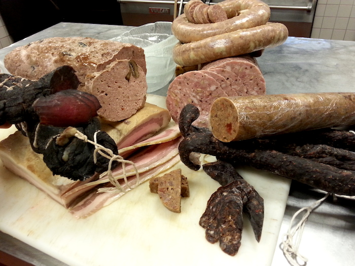 An assortment of meats ready for preparation at Restaurant Gwendolyn. Courtesy photo.