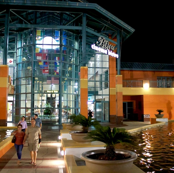TPR Cinema Tuesday patrons exit the Santikos Bijou Cinema Bistro at 4522 Fredericksburg Rd. Photo by Taylor Browning.