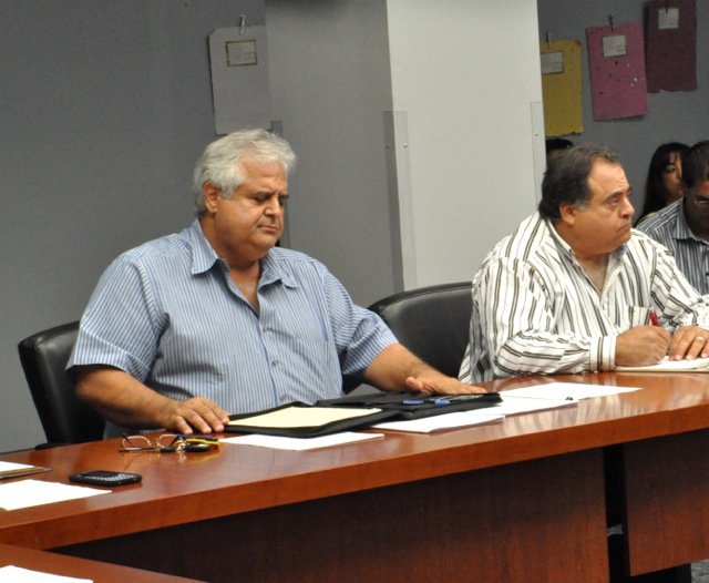 TAB member George Alva said he was disappointed with the rideshare inclusion proposal. Photo by Iris Dimmick.