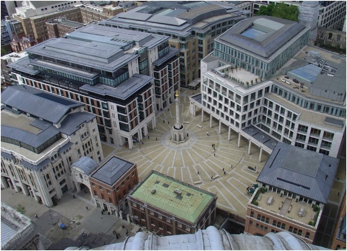 View from atop St. Paul's Cathedral in London. Photo by John Murphy.