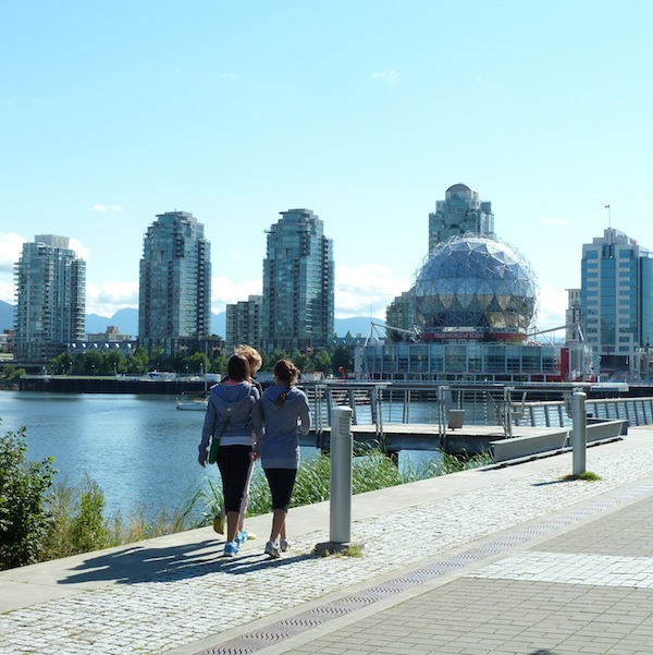 Southeast False Creek is designed as a mixed-use community with a focus on residential housing – the 2010 Olympic Village is at its core. Photo by John Murphy.