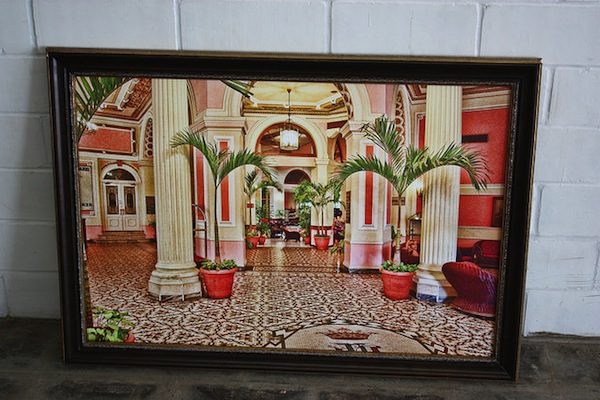 Eric Lane's view of a hotel located in Havana. Photo by Kay Richter.