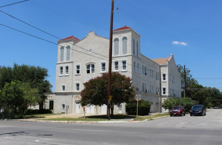 This church building at 1101 W. Woodlawn is reportedly under contract. Photo by Page Graham.