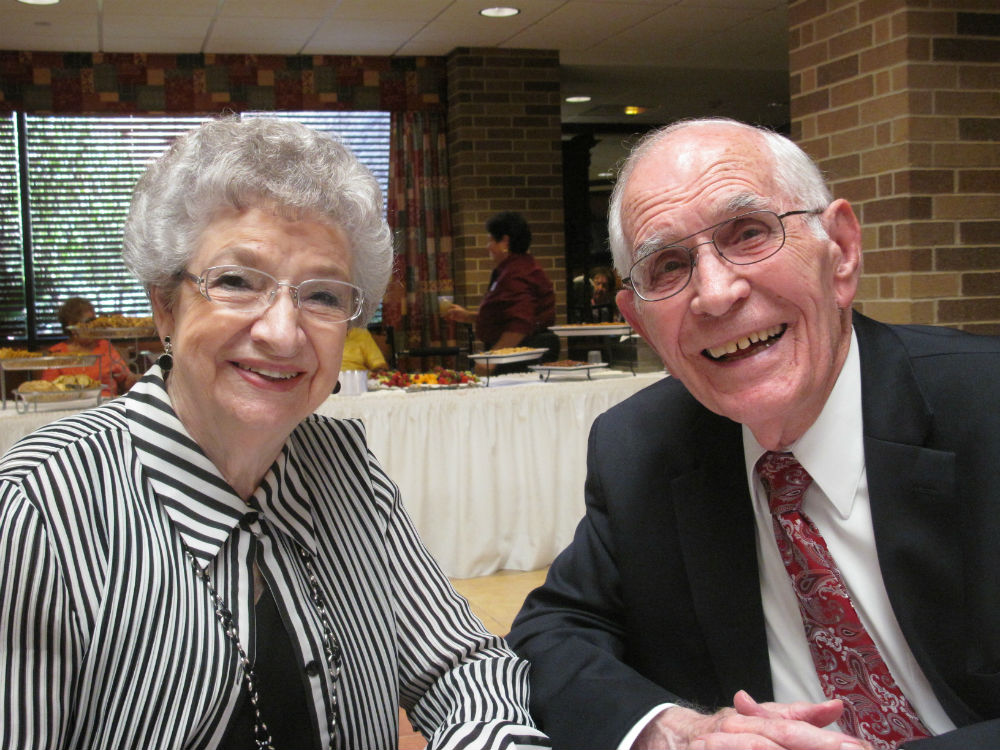 Two Morningside Ministries residents. Courtesy photo.