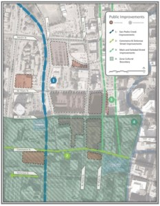From the downtown development proposal by Weston Urban and Frost Bank submitted to the City of San Antonio dated Aug. 8, 2014.