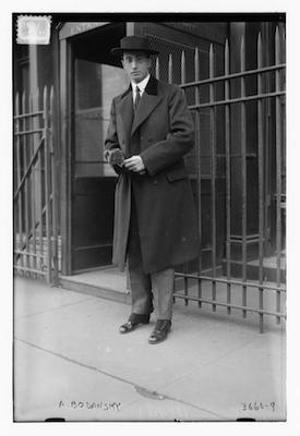 Artur Bodanzky at the Metropolitan Opera in 1915. Photo courtesy of the San Antonio Public Library – Texana Section / San Antonio Symphony.