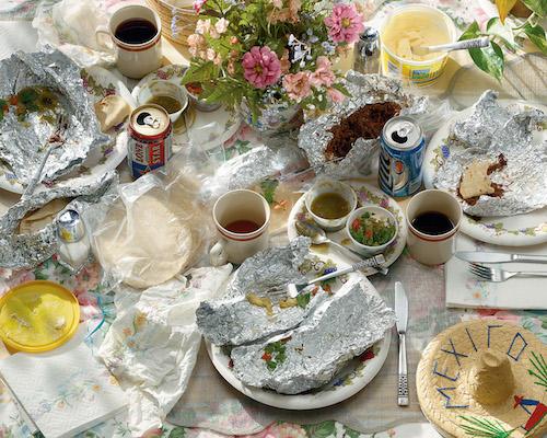 """""""Breakfast Tacos"""" from the series Seven Days (2003) by Chuck Ramirez. Photo courtesy Ruiz- Healy Art"""