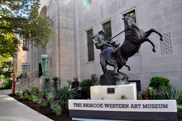 The Briscoe Western Art Museum. Photo by Iris Dimmick.