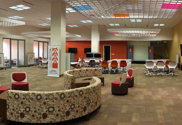 Phase II of Café Commerce. Courtesy photo.