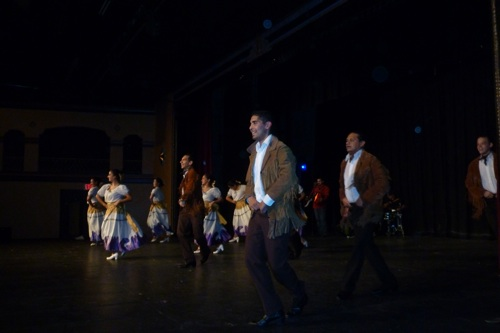 """The Guadalupe Dance Company performs """"Río Bravo"""" at the Guadalupe Cultural Arts Center. Photo by Martha Searcey."""